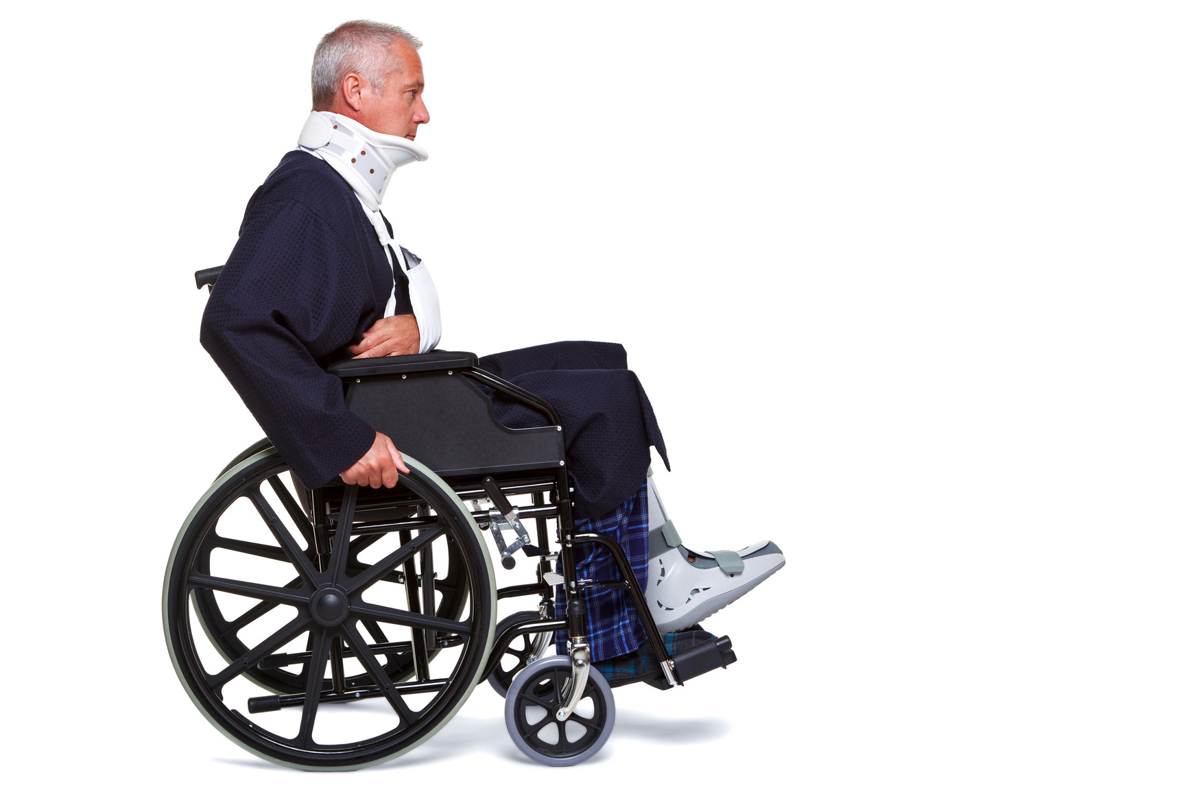 Disabled Person In Wheelchair Images
